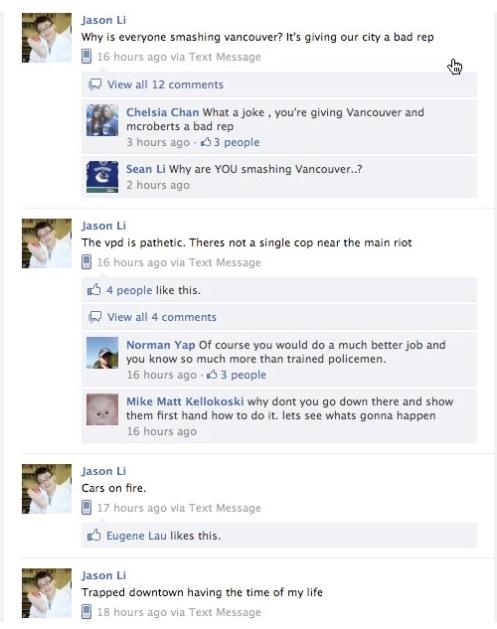 Jason Li FB posts